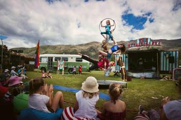 The Extravaganza Fair circus