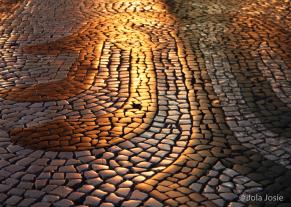 Footpath in Lisbon